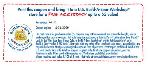Build a Bear Free Accessory