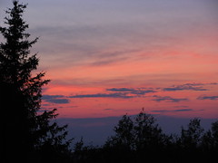 Sunset Over The St. Lawrence River (jrix) Tags: sunset canada cabin quebec gaspepeninsula aug09 grossesroches