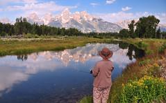 A Place Called Beautiful (Jeff Clow) Tags: vacation fishing quiet getaway peaceful snakeriver serene wyoming tetons grandtetonnationalpark 1exp jacksonholewyoming ©jeffrclow