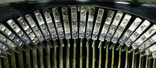 Photo: Details of an Old Typewriter by Raúl Hernández González