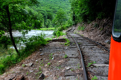 Durbin, WV. (extra156west) Tags: railroad west train virginia fairmont speeder durbin