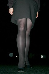 "helennorthcoast -  ""Nightwalk"" 06 (helennorthcoast) Tags: stockings highheels legs cd pantyhose crossdresser"