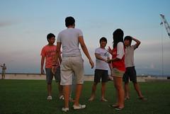 DSC_0446 (matzhuang) Tags: sun grass marinabarrage