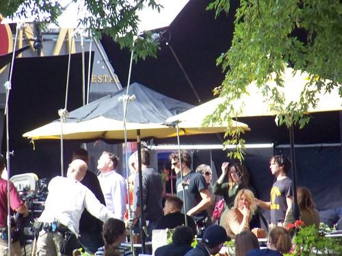 "Ben Affleck filming ""The Town"""