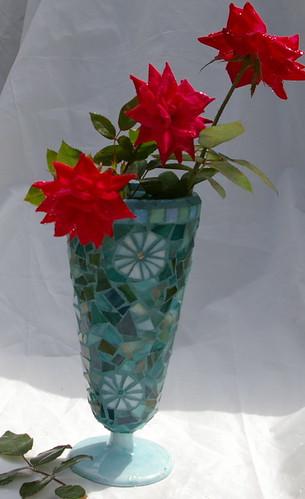 Pinwheel Flowers Vase