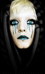 Tear drop (basistka) Tags: blue hair eyes poland drop tear deviantart cocon basistka