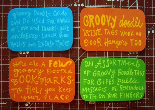groovy doodle labels