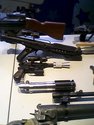 Various weaponry - display by Replica Prop Board by you.