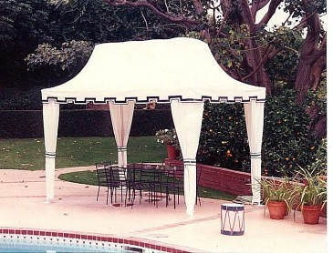 Pool Cabana Sunbrella Fabric