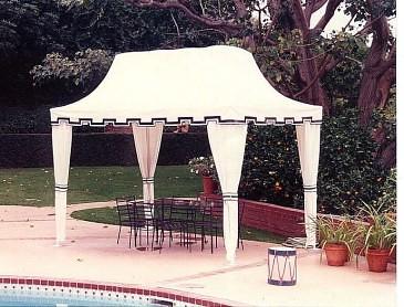 Pool Cabana Sunbrella Fabric