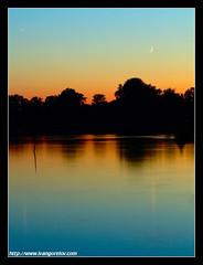 Twilight / Alkonyat (FuNS0f7) Tags: summer twilight hungary szolnok sonycybershotdscf828 digitalcameraclub colorphotoaward holttisza 100commentgroup alcsisziget