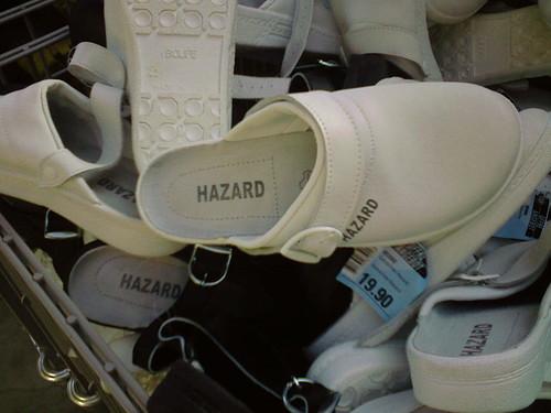 Dangerous footwear