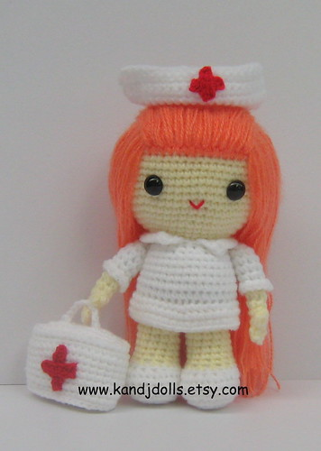 Amigurumi Nurse Pattern : Nurse Jazzy, amigurumi, crochet pattern - a photo on ...