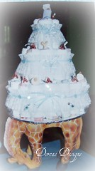 cakes 006 (southernNewfiegirl) Tags: baby cakes diaper