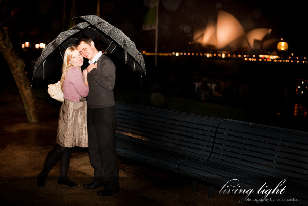Engagement session in the Sydney, Circular Quay area.