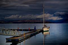 For Sail (BoboftheGlen) Tags: water island scotland boat loch arran ayrshire lochranza ranza the4elements