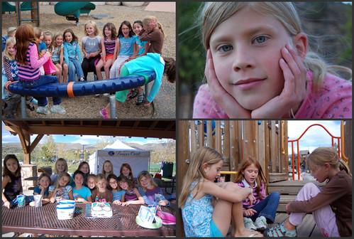 Emma's birthday collage