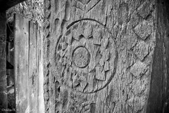 Craftmanship (Ovidiu H.) Tags: old bw house countryside europe village historic romania tradition region craftsmanship maramures tokina1224f4 sighetumarmatiei nikond80 muzeulsatuluimaramuresean maramureseanvillagemuseum
