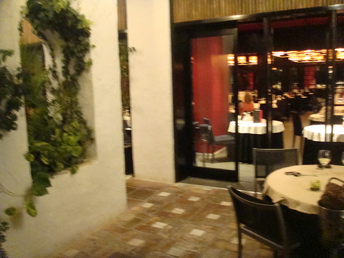 Terraza del restaurante