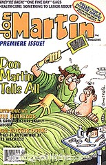Don Martin Magazine and Teenage Mutant Ninja Turtles and Flaming Carrot by Michael Vance1