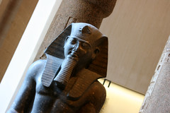 King Ramses (REYna Photography) Tags: louvre egyptian ramses parisfrance pharoh trenchmedia reynaphotography