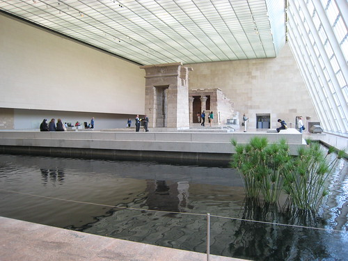 Egyptian Courtyard in the Met