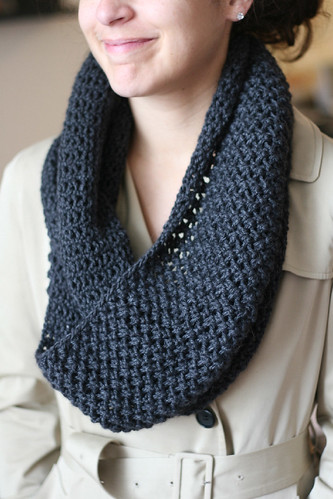 Needle size; yarn type; circular needles; infinity scarf ...