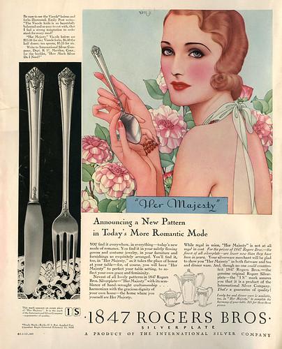 Dynevor Rhys_Rogers Bros. ad_1931_tatteredandlost