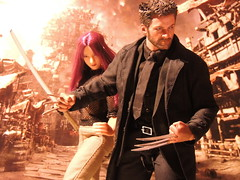 The Wolverine (1/6th shooter) Tags: toys terminator t2 sarahconnor t600 hottoys johnconnor endoskeleton sideshowtoys onesixth terminatorsalvation