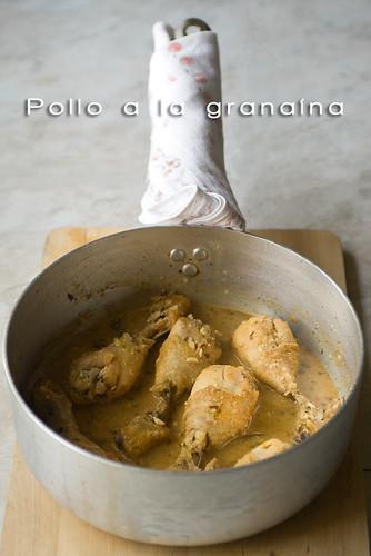 Pollo a la granaína