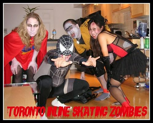 Toronto Inline Skating Zombies 2009
