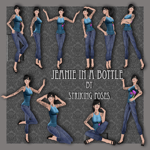 Jeanie in a bottle- Barbara Eden