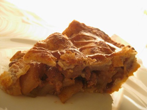 Caramel Apple Pie - Slice