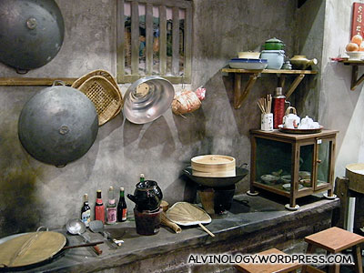 Chinese Kitchen In The Past