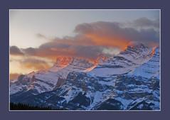 Mount Rundle (alexander.garin) Tags: mountains nature sunrise landscape banff rundle canadianrockies artofimages bestcapturesaoi elitegalleryaoi