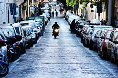 Biker (Marcia Salviato) Tags: street italy roma building bike travels holidays europe italia perspective marcia eu it motorbike moto perspectiva rua viagens ferias vacanze predio h9 duetos salviato marciasalviato