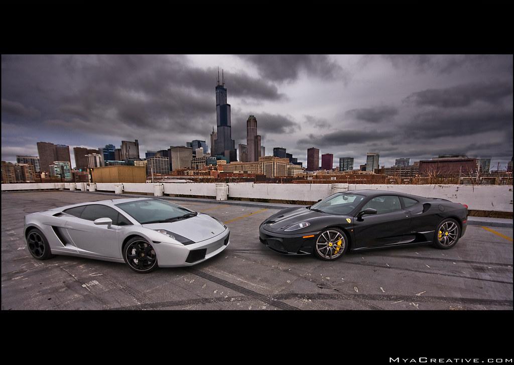 Ferrari F430 Scuderia Lamborghini Gallardo Transportation In