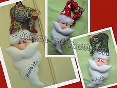 .:. Papai Noel de Maaneta .:. (Bonecos de Pano .Com) Tags: natal enfeitedenatal enfeitedeporta enfeitedemaaneta papainoelparamaaneta