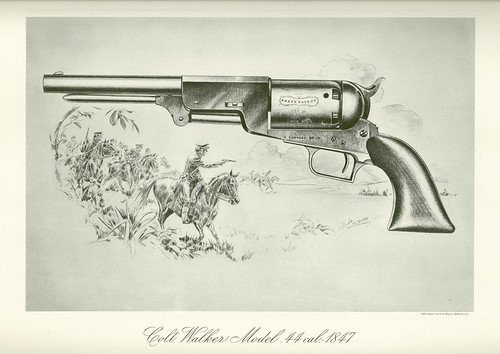 Colt Revolver 1835 1847 Colt Walker Revolver The