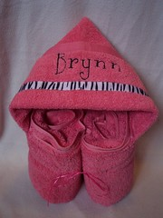 pink zebra (spiritofgiving) Tags: towels custom personalized hooded