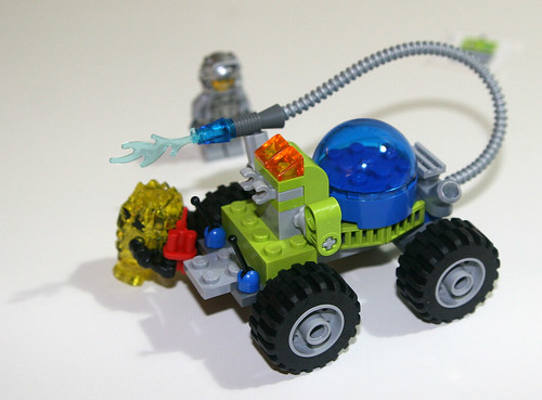 2010 LEGO 8188 Power Miners - Fire Blaster