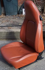 99PorscheCoupe8 (truckandcarseats) Tags: red leather 1999 porsche boxster coupe fronts