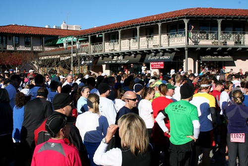 Runners Waiting @ The Start Line