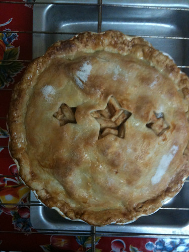Apple Pie, fresh out of the oven...