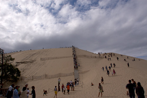 La Dune du Pyla, a desert in the middle of France