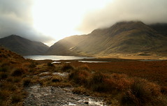 Doolough (hmb52) Tags: autumn ireland light clouds corrie mweelrea blacklake sheeffryhills bengorm aillemoreset comayodoolough ancientglacier