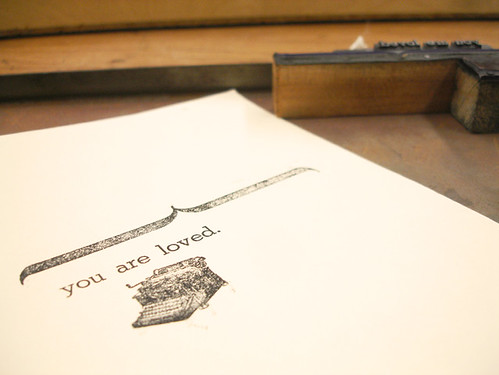 letterpress class.