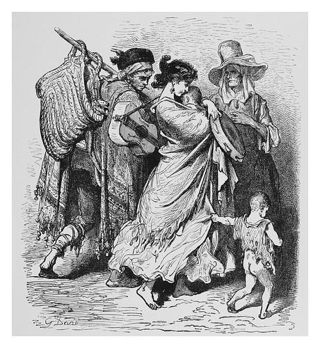 025-Familia de musicos ambulantes-Spain (1881)- Doré Gustave
