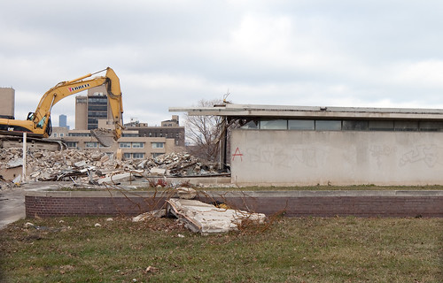 Serum Center Demolition