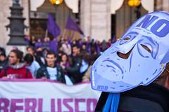 La maschera del NO B-Day